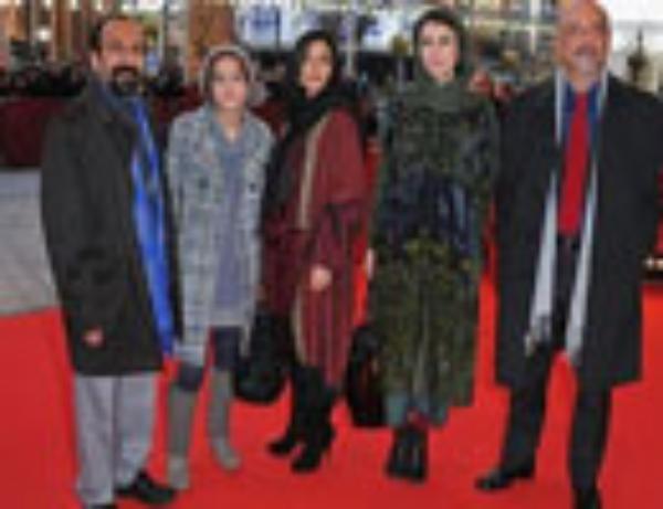 ازمراسم فرش قرمز فیلم«جدایی نادر از سیمین»در برلین