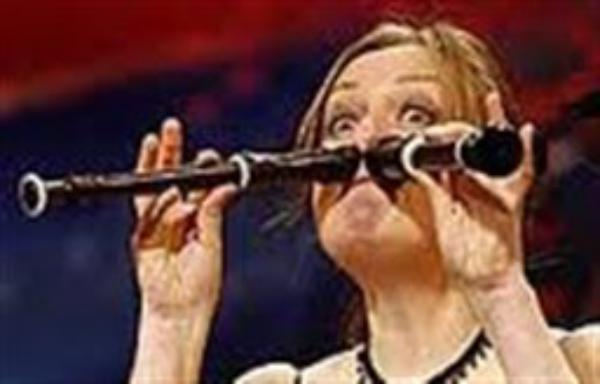 مردان و زنان شگفت انگیز(2)/ نوازندگی با بینی