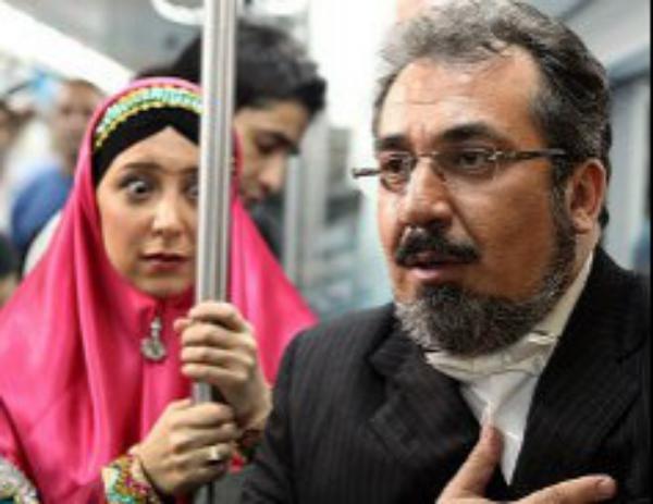 اهالی قهوه تلخ در متروی تهران