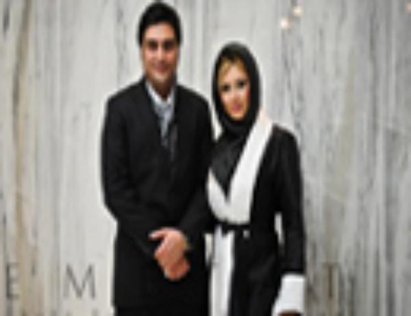عکس های افتتاحیه فیلم پرتقال خونی با حضور نیوشا ضیغمی و همسرش