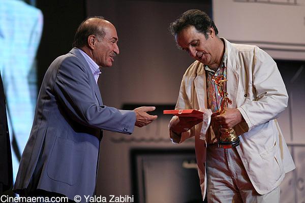 عکس: شهاب حسینی و همسرش در جشن خانه سینما
