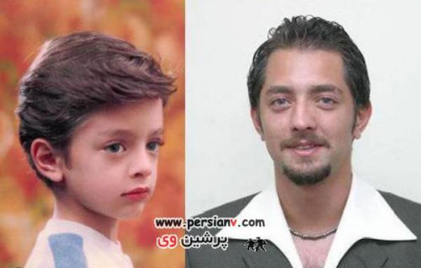 عکس های دیدنی از دوران کودکی و نوجوانی  بازیگران مشهور ایرانی