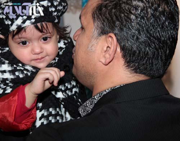 اولین عکسهای نورا دایی، دختر علی دایی / گزارش تصویری