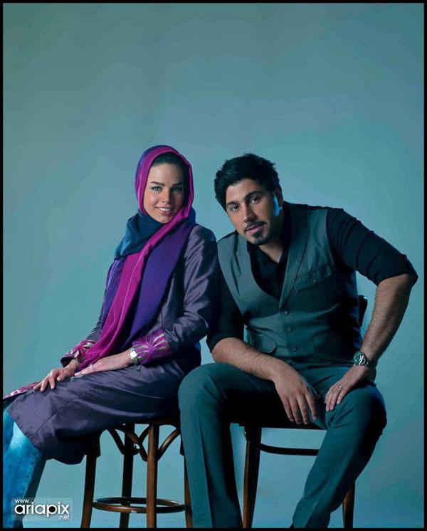 عکس های جدید احسان خواجه امیری و همسرش