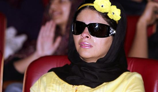 گریه مریم حیدرزاده در کنسرت مازیار فلاحی / عکس