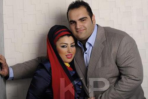 بهداد سلیمی و همسرش + عکس