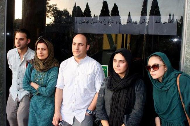 عکسهای جدید باران کوثری در شیراز