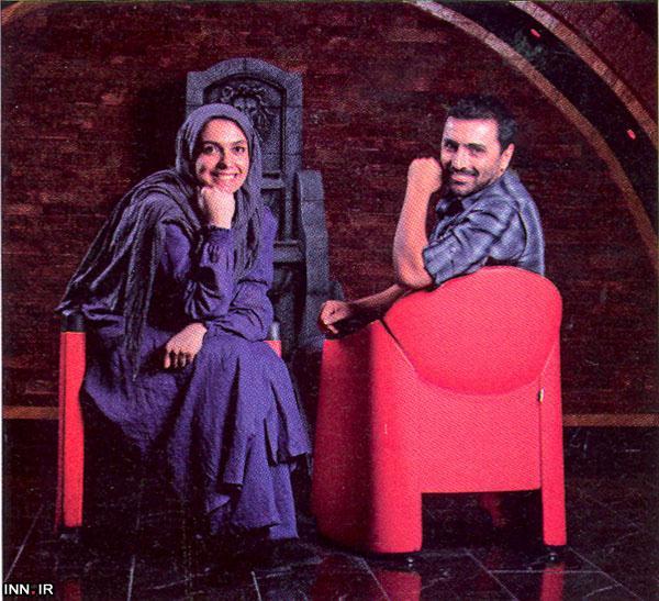 زوج مشهور هنری ماه عسل به شیراز رفتند