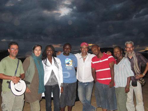 عکس های جدید مهتاب کرامتی در آفریقا