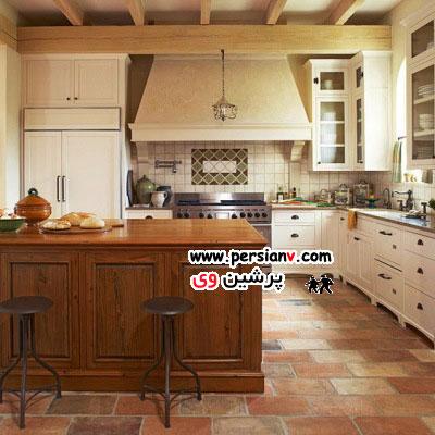 آشپزخانه هایی که کابینت سفید رنگ دارند+ عکسدکوراسیون آشپزخانه هایی که کابینت سفید رنگ دارند+ عکس