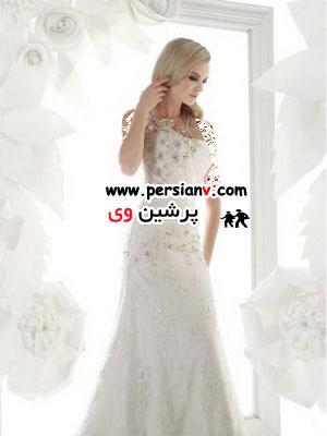 جدیدترین مدل های لباس عروس سیمون کاراولی 2012 ( عکس)