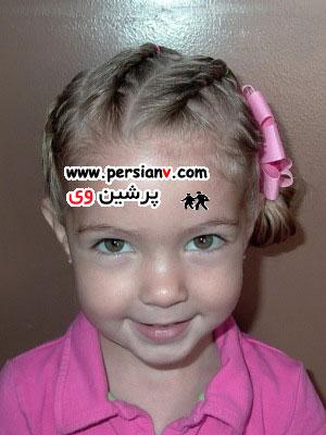 مدل های بافت برای موهای دختران ( عکس)