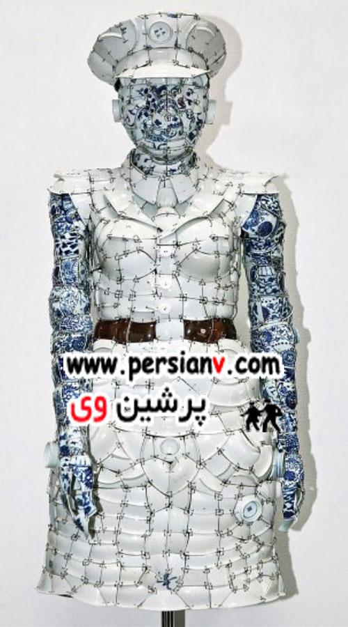 جنس این لباسها شما را متحیر میسازد! +عکس
