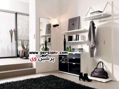 راه حلی برای آنان که از کمبود فضا در آپارتمان های کوچک خود شکایت می کنند( عکس)