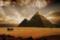 کشف اهرام جدید در میان مقبره های ترسناک در مصر!+ عکس