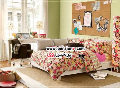 ایده هایی برای دکوراسیون اتاق خواب دخترها( عکس)