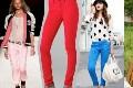 Sجدیدترین مدل های شلوار جین با رنگ های شاد و زیبا(عکس)