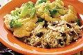 خوراک مرغ با  سس خامه و قارچ +عکس