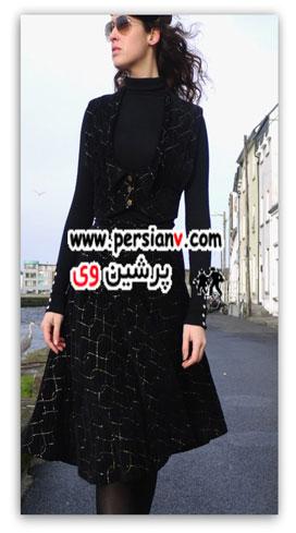مدلهای مناسب لباس برای صورتهای کشیده +عکس