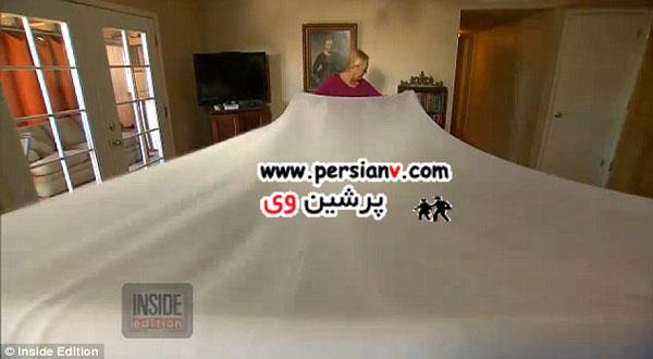 بزرگ ترین لباس عروس دنیا برای بزرگترین عروس دنیا +عکس