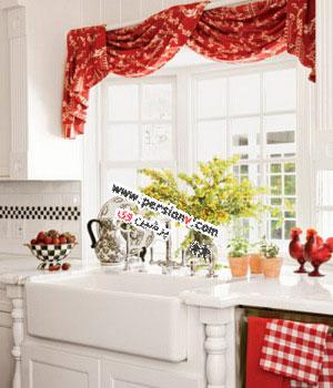 پیشنهاداتی برای دکوراسیون پرده آشپزخانه(عکس)