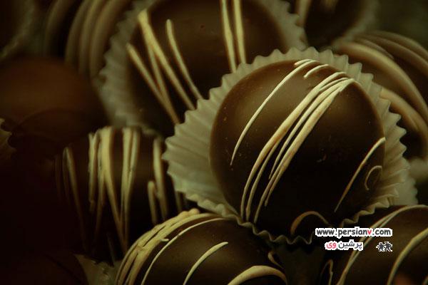 شکلات های زیبا و وسوسه انگیز +عکس