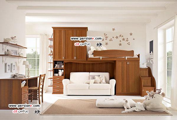 اتاق خواب های زیبا برای کودکان +عکس