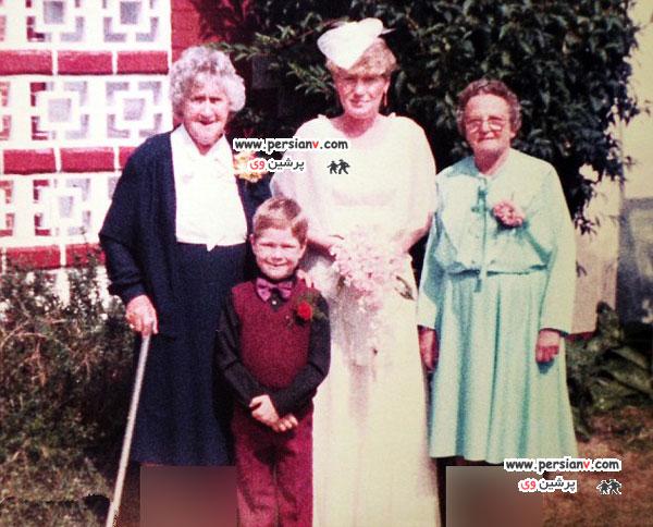 اعتیاد یک مادربزرگ به ازدواج +عکس همسران