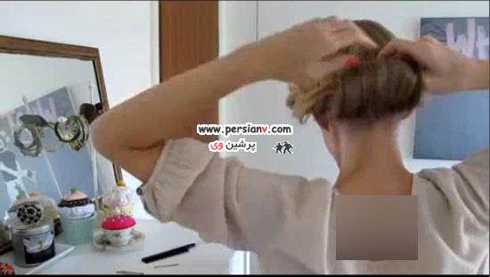 روش درست کردن مدل موی پیچ ساده + راهنمای تصویری