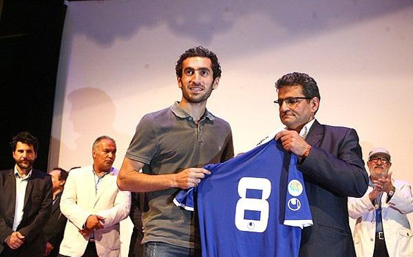 مراسم جشن پیراهن باشگاه استقلال با حضور هنرمندان +تصاویر