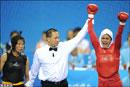 عکس های دیدنی:حضور دختران ايراني در بازیهای آسیایی گوانگجو