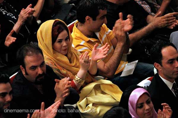 ملیکا شریفی نیا و همسرش در مراسم یادمان محمد نوری + عکس