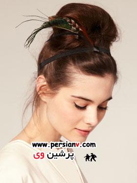 مدلهای جدید بستن مو با تل سر +عکس