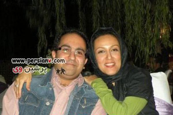 عکس : پانته آ بهرام  و همسرش