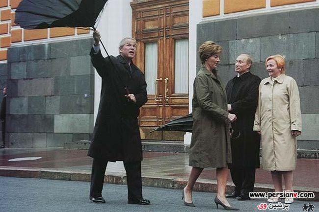 خنده دارترین تصاویر از سیاستمداران دنیا