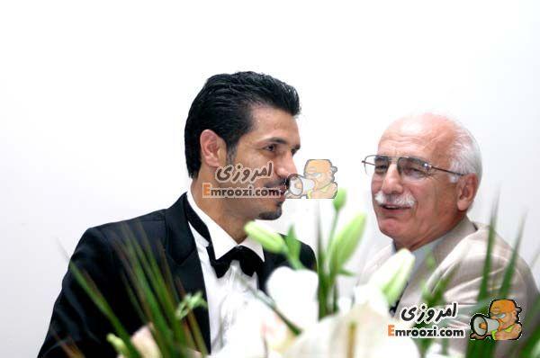 عکس علی دایی عروسی