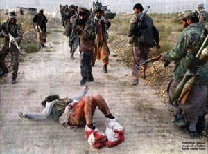 عکس؛ مردی که آلت تناسلی اش را طالبان برید(+18)