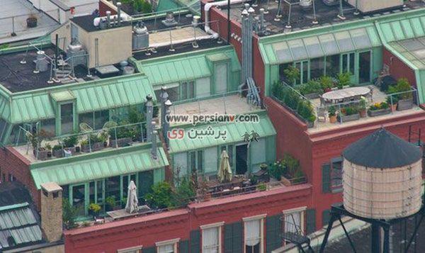 پشت بام خانه ثروتمندان