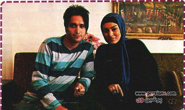 عکس : سحر قریشی ، همسر و مادرش
