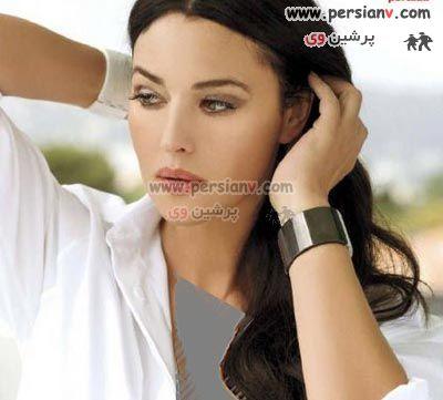 عکسهای دیده نشده از مونیکا بلوچی ، بازیگر زیبای ایتالیایی