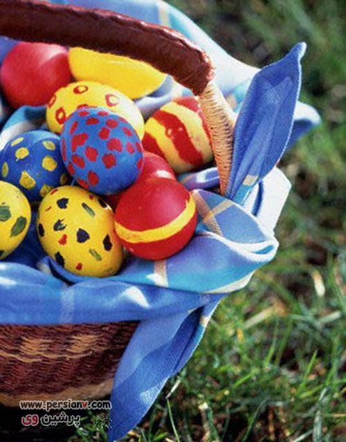انواع تزیینات تخم مرغ مخصوص سفره هفت سین عید نوروز