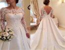 جدیدترین لباسهای عروسی ،  آرایش عروس + تصاویر