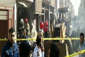 انفجار خط لوله گاز در اسلامشهر!