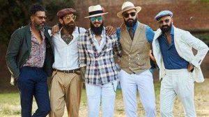 تیپ های مردانه جذاب در هفته مد خیابانی فلورانس ایتالیا