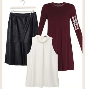 نحوه انتخاب لباس های کلوش برای خانم های کوتاه قد