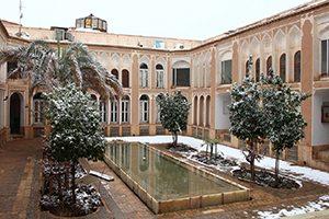 بنای تاریخی خانه رسولیان در شهر یزد