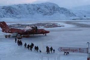 فرودگاه دیدنی در گرینلند
