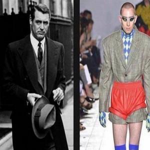 عکس های خنده دار ۴۰۷ | از استایل مردان در گذشته و حال که چی بودن و چی شدن تا آرایشگر دیوانه!