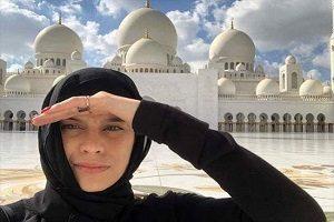 همسران بازیکنان رئال مادرید، با حجاب در امارات!