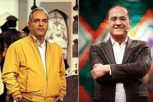 سلفی جالب رامبد جوان و مهران مدیری با رییس صداوسیما